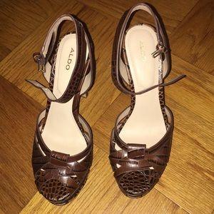 Aldo Alcla platform heels